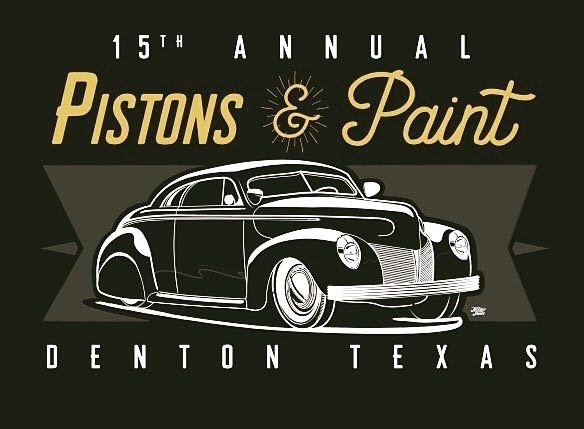 pistons & paint